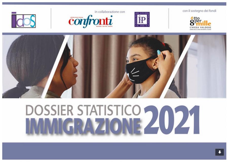 Presentazione Dossier Statistico Immigrazione 2021