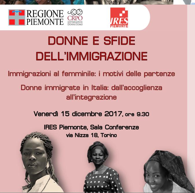 convegno donne immigrazione